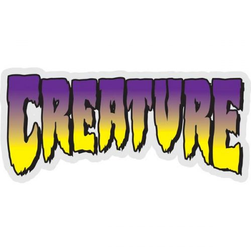 Creature Classic Skateboard Sticker 2.75''