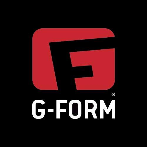G Form Skateboard Sticker Logo 3.5''