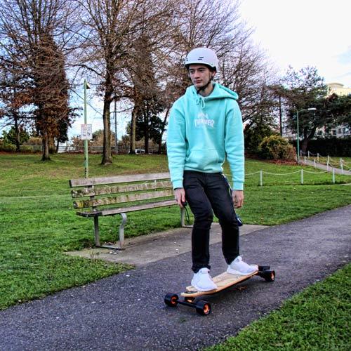 Evolve Electric Skateboards Vancouver Granville Island Ride