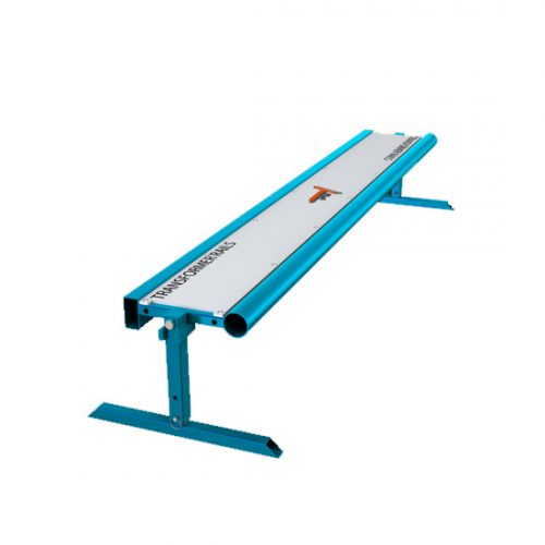 blue Transformer Rail Bench Vancovuer