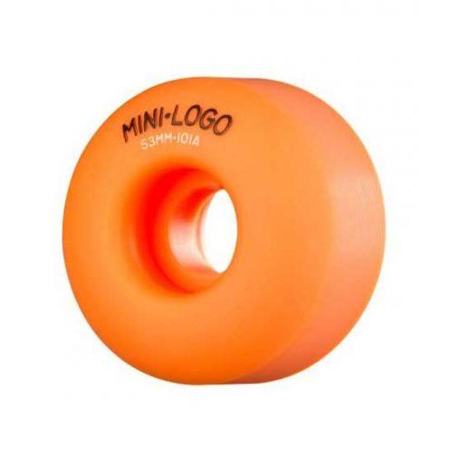 Mini Logo C-Cut Orange Wheels 101A 52mm 54mm Vancovuer Canada