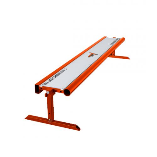 Orange Transformer Rail Bench 8 Feet