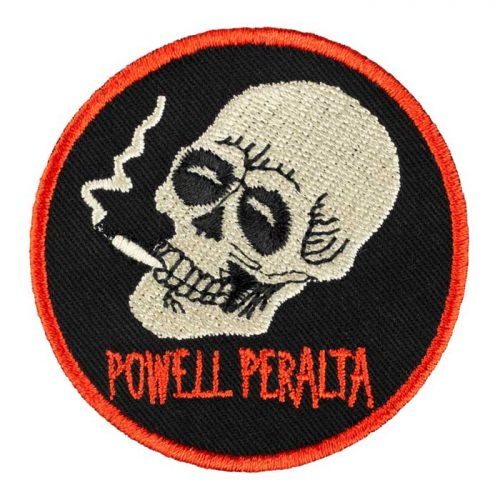Powell Peralta Smoking Skull Patch 3""