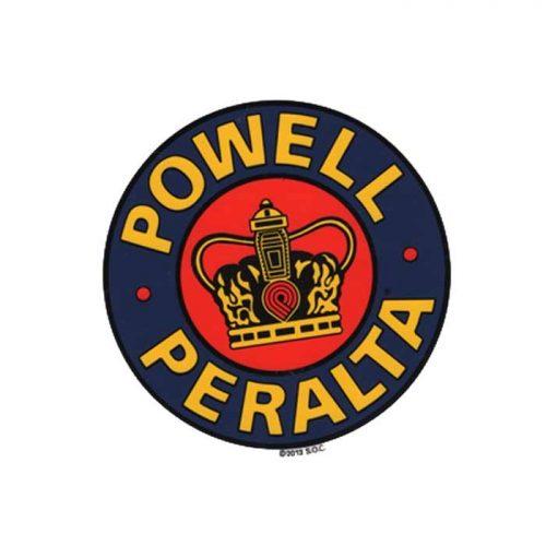 Powell Peralta Supreme Crown Sticker 5''