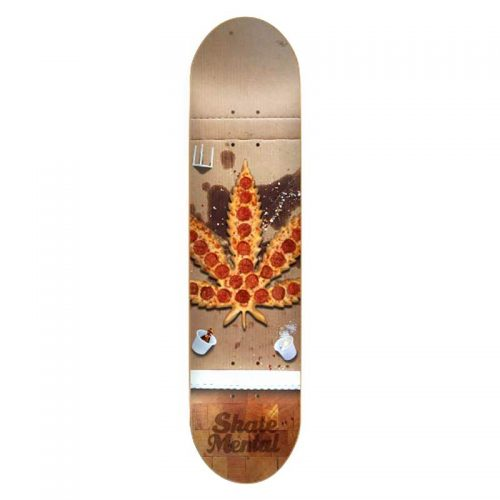 "Buy Skate Mental Pizza Leaf 8.25"" x 31.625"" Deck Canada Online Sales Vancouver Pickup"