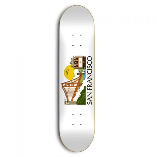 "Buy Skate Mental San Francisco Tourist 8.25"" x 31.5"" Deck Canada Online Sales Vancouver Pickup"