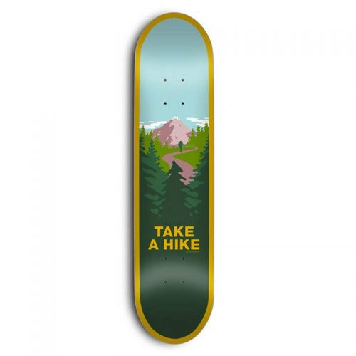 "Buy Skate Mental Take A Hike 8.5"" x 31.75"" Deck Canada Online Sales Vancouver Pickup"