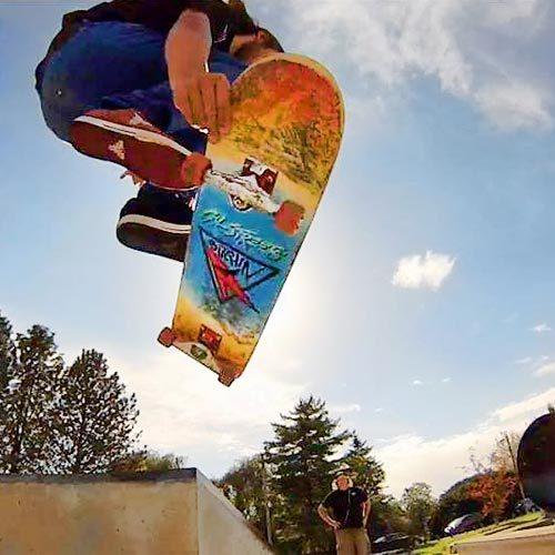 CalStreets Bitchin Board Nano Slick - Adam Wiggum Skater