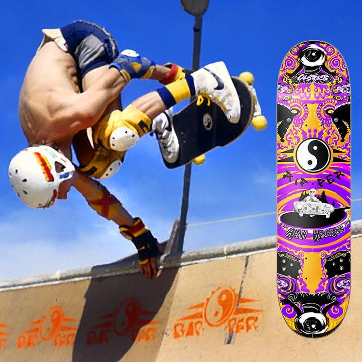 Al Harrison CalStreets Popsicle Deck Skates flip