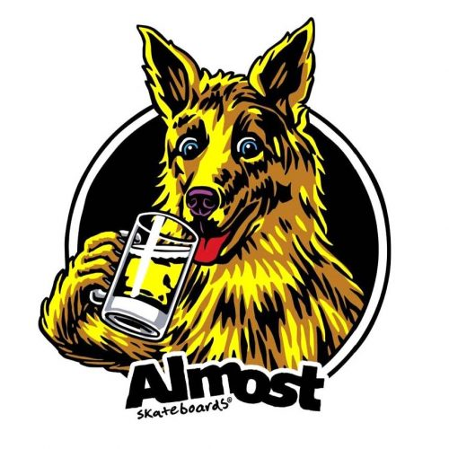 """Buy Almost Brew Sticker 3.5"""" x 3.75"""" Canada Online Sales Vancouver Pickup"""