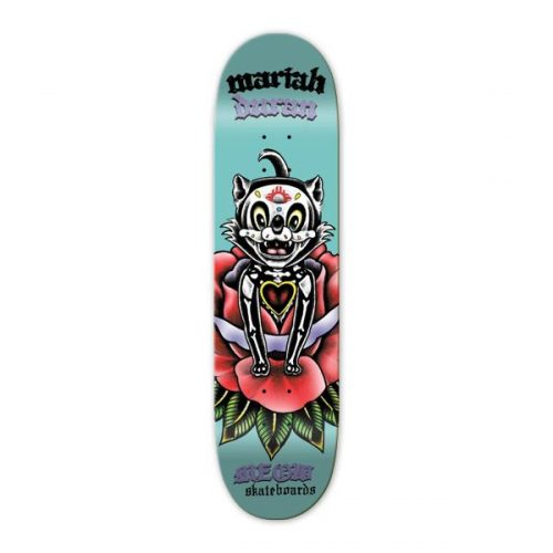 """Buy Meow Skateboards Mariah Duran Dia De Los Gatos Deck 7.75"""" x 31.75"""" Canada online Vancouver Pickup"""