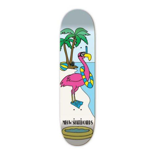 """Buy Meow Skateboards Flamingo Deck 8.25"""" x 32.125"""""""