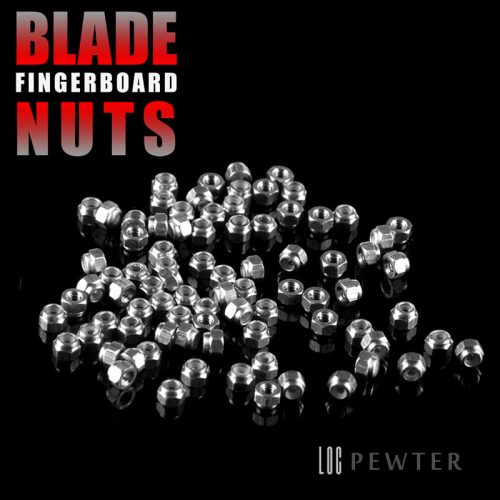 Blade Pro Shop Fingerboard Loc Nuts Pewter Grey Online Sales Canada Pickup Vancouver