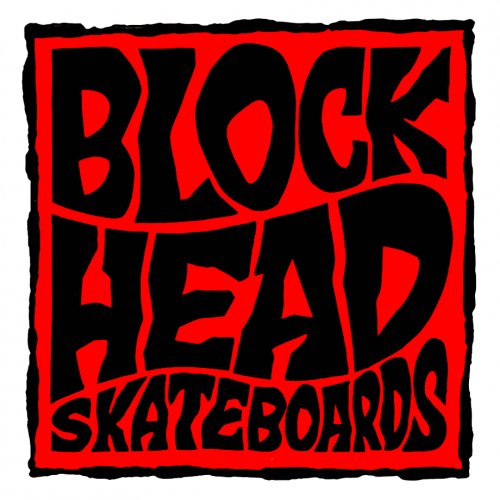 BLOCKHEAD-SQUARE-RED-Buy Blockhead Skateboards and Reissues Canada Online sales Vancouver Pickup