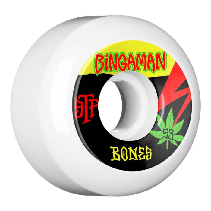 Buy Bones STF Bingaman Attitude V5 55mm 83B Canada Online Sales Vancouver Pickup