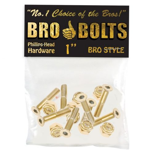 "Buy Bro Style 1"" Gold Hardware Set online Canada pickup Vancouver"