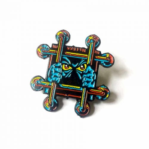 Buy Black Label Enamel Pin Lucero OG Bars online Canada pickup Vancouver