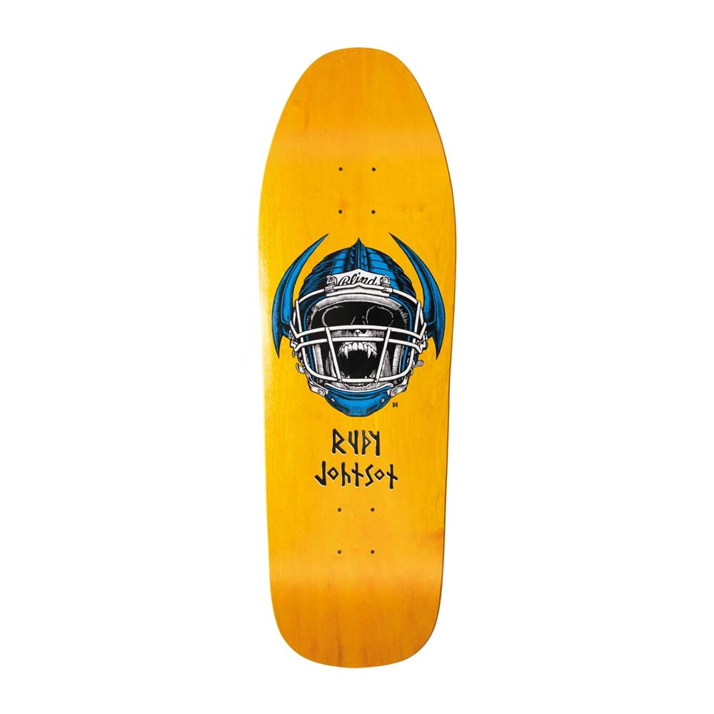 "Buy Blind Rudy Johnson Jock Skull Heritage Silkscreened Deck 9.875"" x 31.9"" Canada Online Sales Vancouver Pickup"