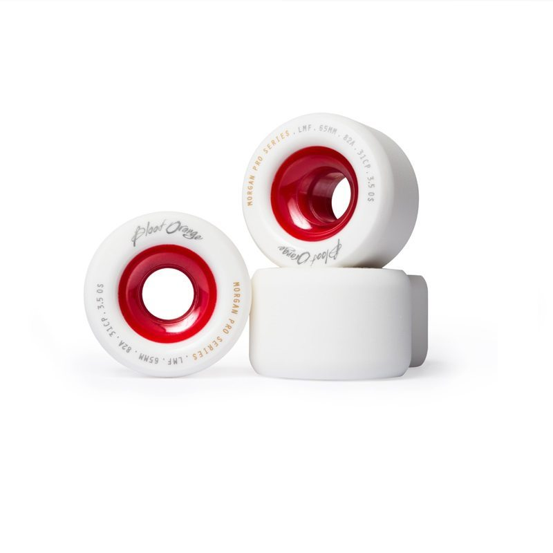Blood Orange WHITE RED CORE Liam Morgan 82a 65mm Pro