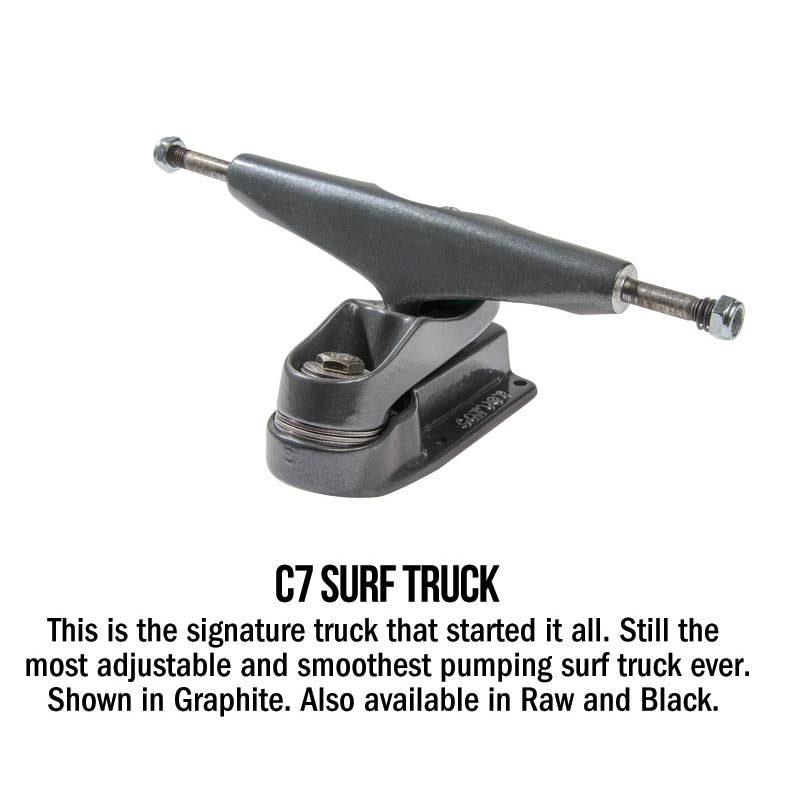 Carver C7 Surf Truck Pewter Grey