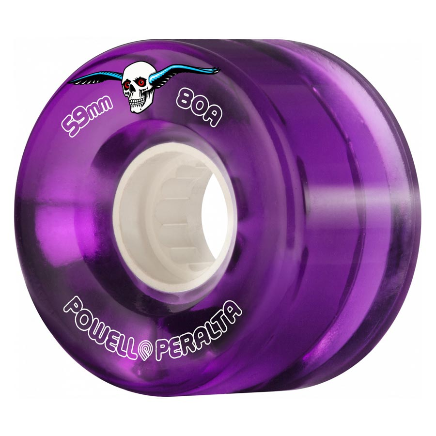 Buy Powell Peralta H2 Clear Cruiser 59mmmm 80a Purple Canada Online Sales Vancouver Pickup