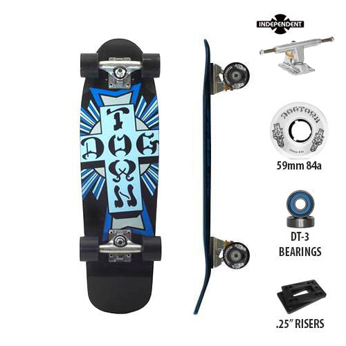 Dogtown Cross Logo Independent Complete 7.625'' x 26.5''