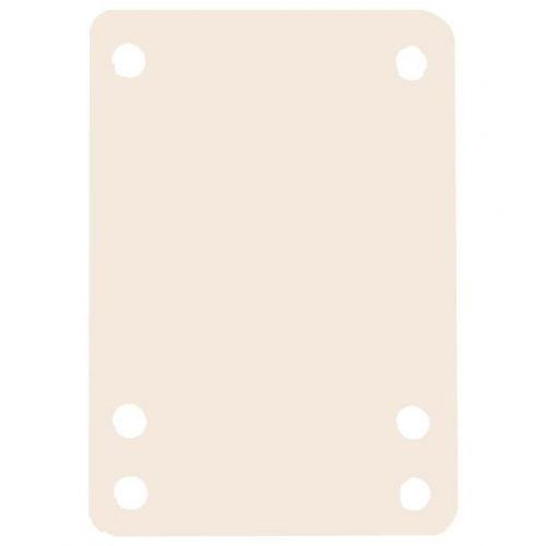 Essentials Riser Pads 1/8th White