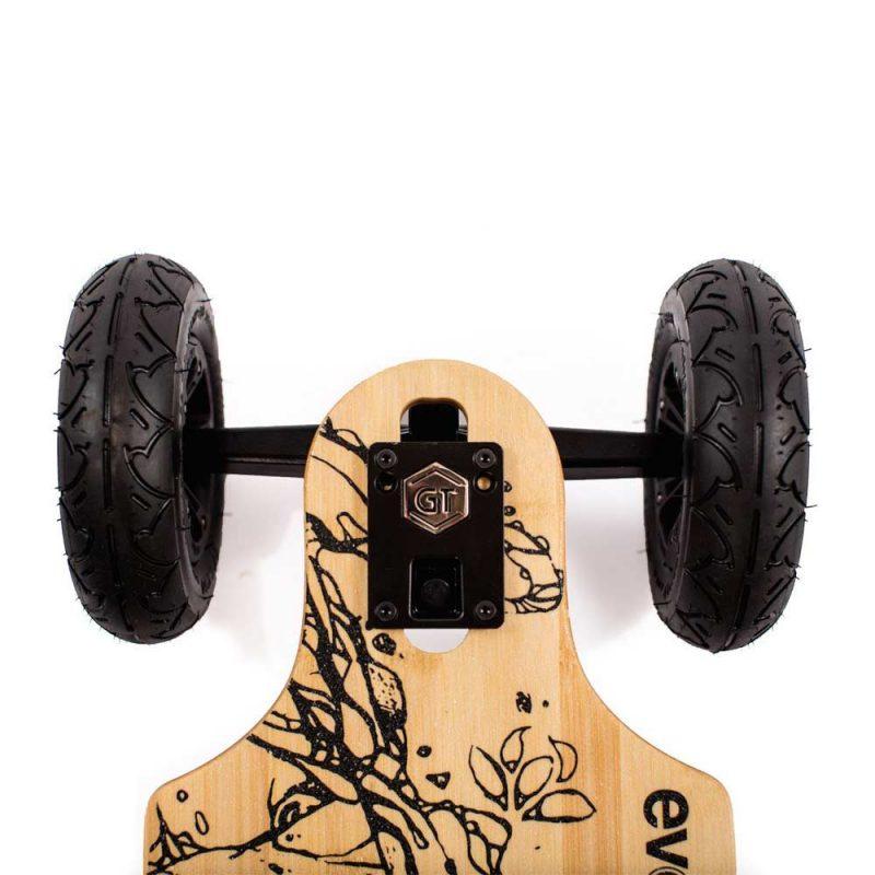 26 MPH Top Speed // 21 Mile Range Evolve Skateboards Street All-Terrain 2in1 Models Bamboo GT Series Electric Skateboard