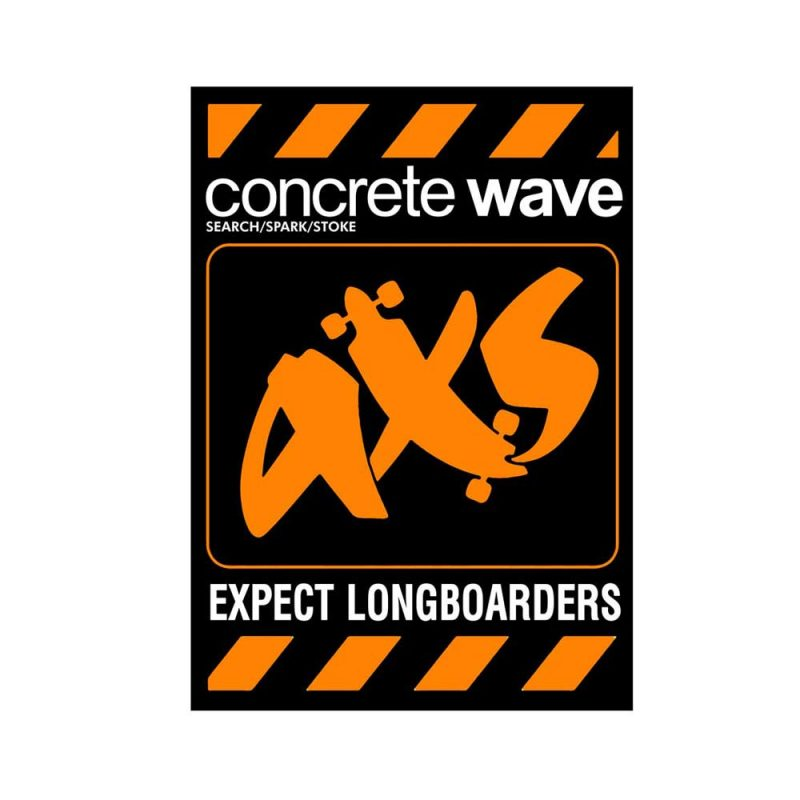 Expect-Longboarder-Labs-Sticker-Orange-fit