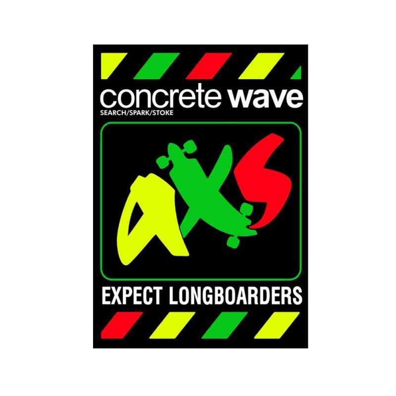 Expect-Longboarder-Labs-Sticker-Rasta