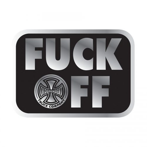 Independent F@#% OFF Sticker