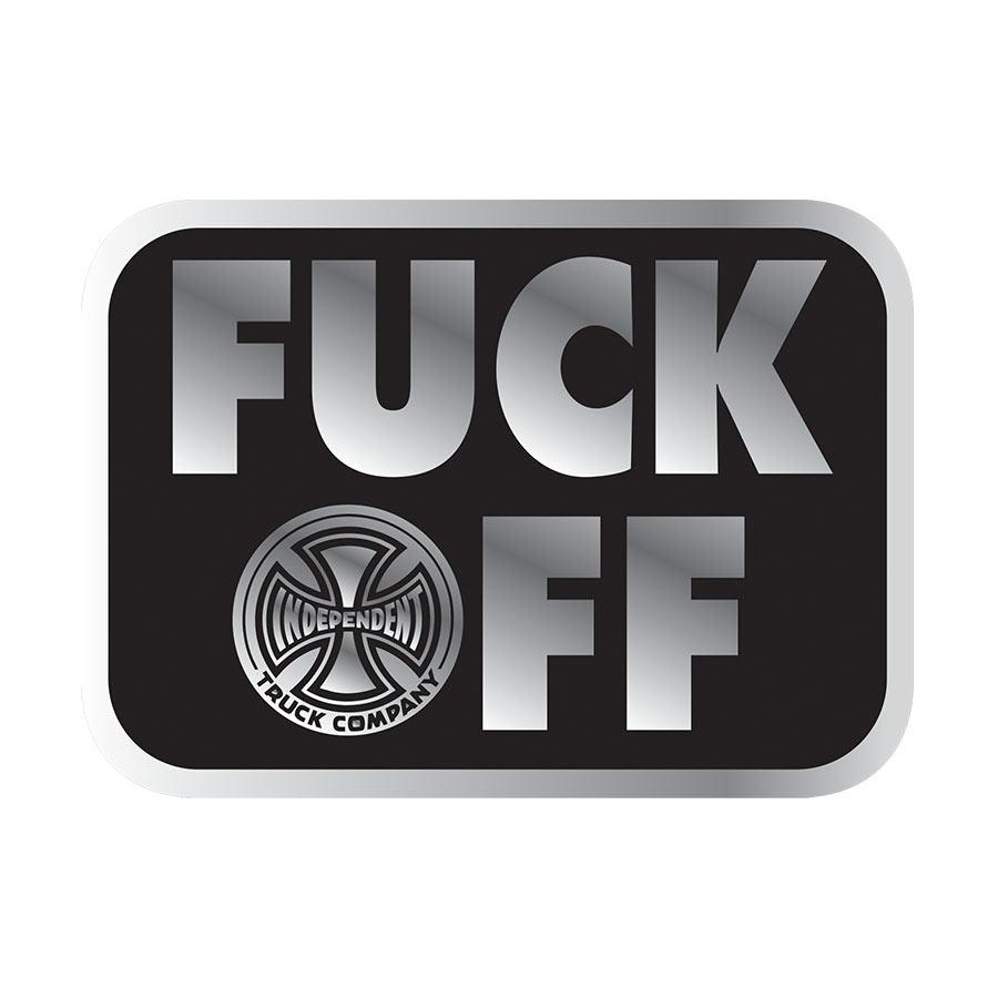 Independent FU*K OFF Sticker