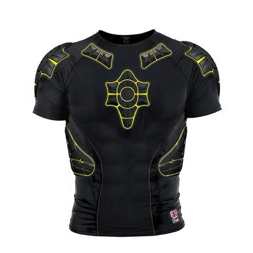 G-Form Pro X Compression Shirt Black Yellow