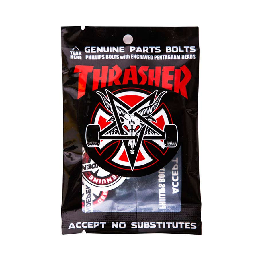 "Buy Independent x Thrasher Countersunk Hardware 1"" Black/Silver Canada Online Sales Vancouver Pickup"