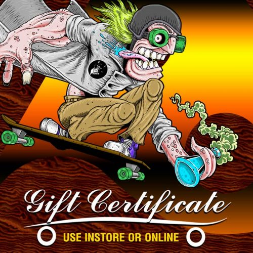 CalStreets BoarderLabs Online Instore Gift Cards Gift Certificates