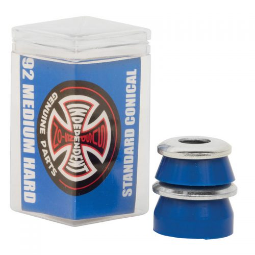 INDY BUSHINGS STD CON MED HARD BLU 4PK