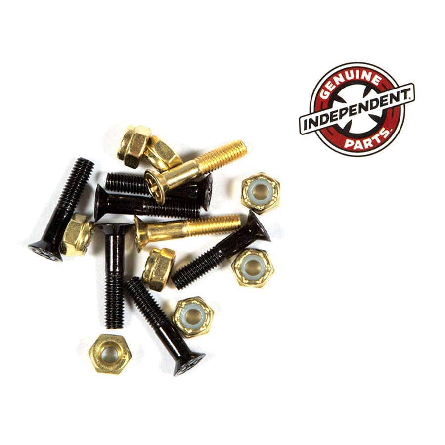 """Buy Independent Countersunk Hardware 1"""" Black/Gold Canada Online Sales Vancouver Pickup"""