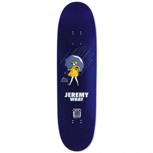 """Buy BLOCKHEAD SIGNED RE-ISSUE Jeremy Wray """"When It Rains It Sucks"""" 31.5"""" x 8.375"""" Deck online Pickup Vancouver"""