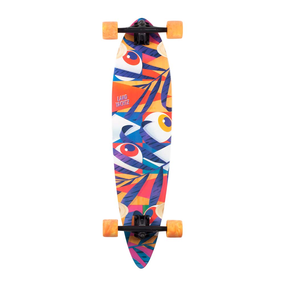 Landyachtz Bamboo Chief Eyes 8 75 Quot X 36 Quot Deck Only