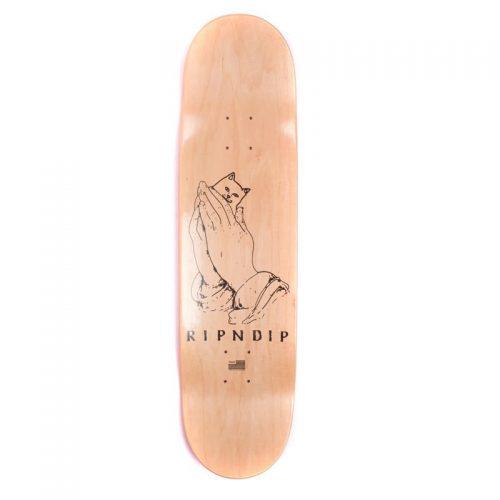 Rip N Dip Lord Nermal yellow Skateboard Deck
