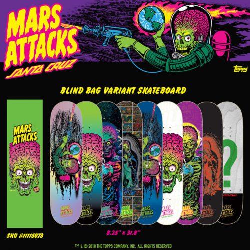 Mars Attacks Santa Cruz Online CalStreets Dealer Canada