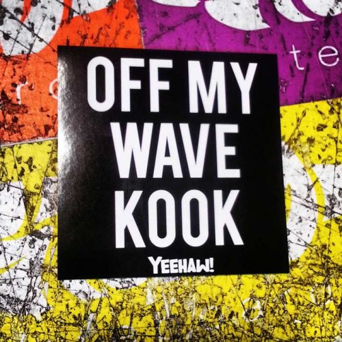 OFF MY WAVE KOOK STICKER