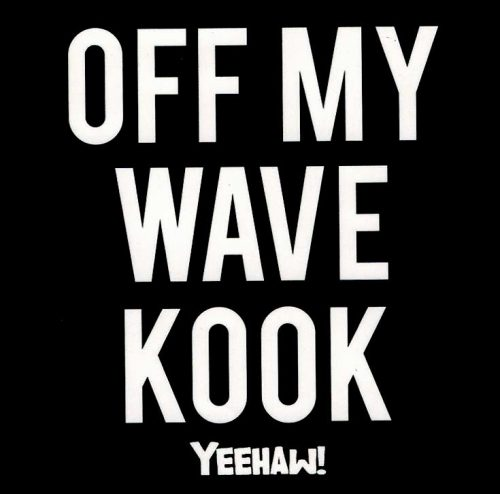 OFF MY WAVE KOOK STICKER