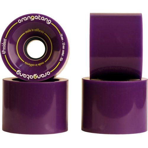 Orangatang 4President 70mm 83a Purple
