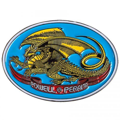 "Powell Peralta Dragon Oval Pin 1"""