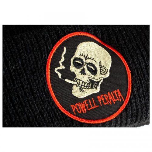 Powell Peralta Beanie Smoking Skull Close