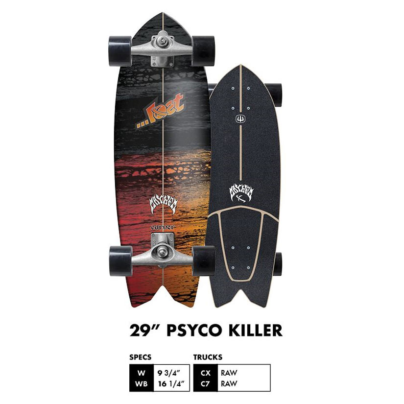 Buy Carver X ...Lost Series Psycho Killer Complete Canada Online Sales Vancouver Pickup