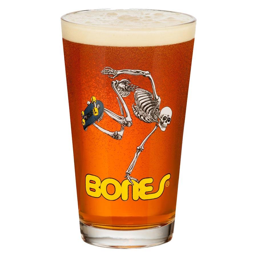 Buy Powell Peralta Skateboarding Skeleton Pint Glass Canada Online Sales Vancouver Pickup