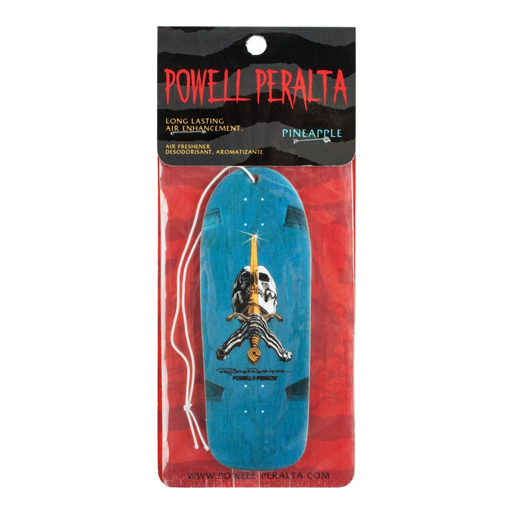 Buy Powell Peralta Skull and Sword Air Freshener Pineapple Canada Online Sales Vancouver Pickup