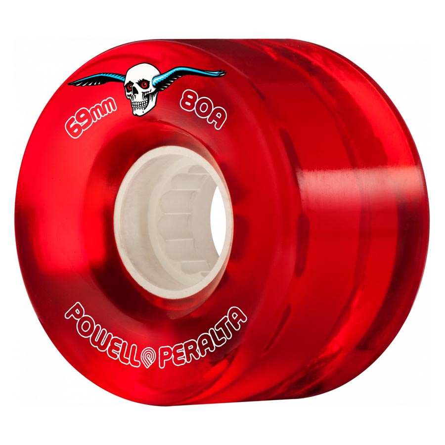 Buy Powell Peralta H2 Clear Cruiser 69mm 80a Red Canada Online Sales Vancouver Pickup